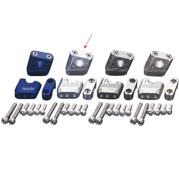 【メーカー在庫あり】 ポッシュ POSH マッスルポジションブラケット 13年-15年 グロム、MSX125 シルバー 059052-03 JP店