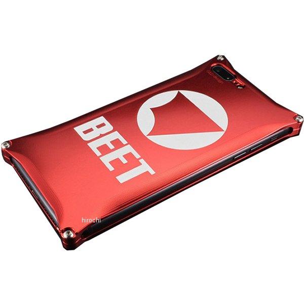 ビート BEET アイフォンカバーiPhone7PLUS 赤 0713-I7P-06 JP店