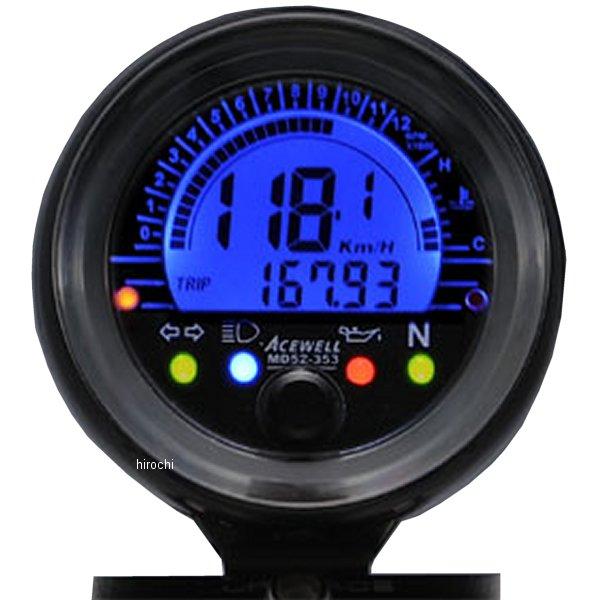 エースウェル ACEWELL 多機能デジタルメーター MD052-353CP JP店