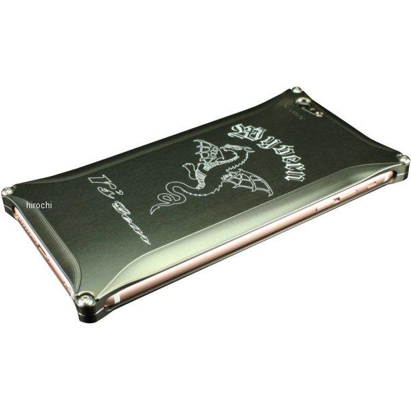 アールズギア r's gear ワイバン スマホケース アイフォン iPhone6+ プラチナブラック XXSP-0002-PB JP店