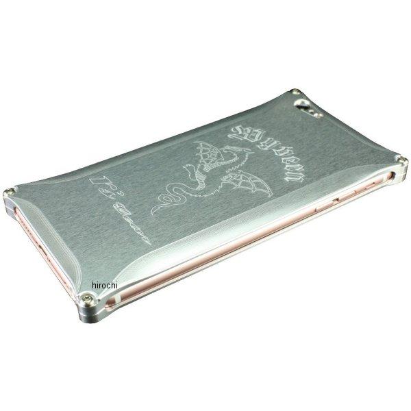 アールズギア r's gear ワイバン スマホケース アイフォン iPhone6+ シルバー XXSP-0002-SV JP店