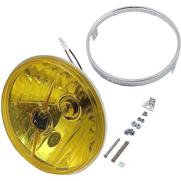 マーシャル MARCHAL ヘッドライトユニット 722/702 スタールクス マルチリフ 180φ 汎用 黄 800-8401 JP店