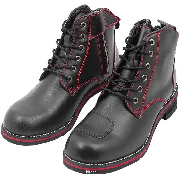 ワイルドウイング WILDWING ライディングブーツ スワロー フラッグシップモデル 黒/赤 25.5cm WWM-0003 JP店