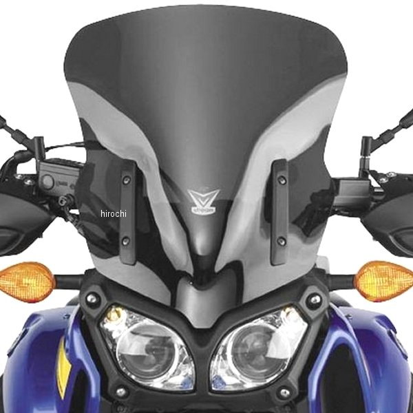 XTZ1200 Cycle ナショナルサイクル National 12年-13年 552400 Vストリーム スーパーテネレ スクリーン JP 【USA在庫あり】 ダークスモーク