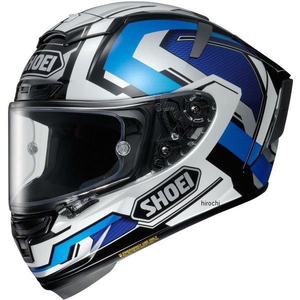 ショウエイ SHOEI フルフェイスヘルメット X-Fourteen BRINK ブリンク TC-2 青/白 XXLサイズ (63-64cm) 4512048472245 JP店