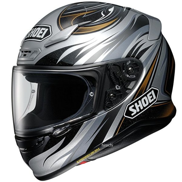 ショウエイ SHOEI フルフェイスヘルメット Z-7 INCISION TC-5 黒/シルバー XXLサイズ 4512048472481 JP店