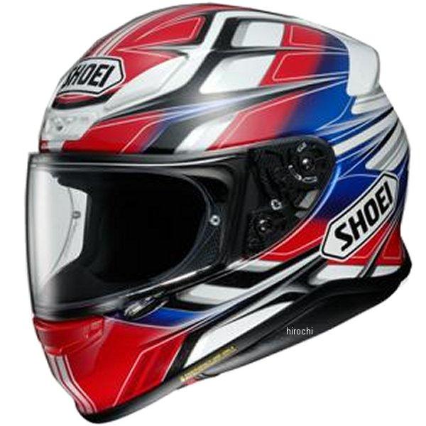 ショウエイ SHOEI フルフェイスヘルメット Z-7 RUMPUS ゼット セブン ランパス TC-1 赤/白 XXLサイズ (63cm) 4512048472788 JP店