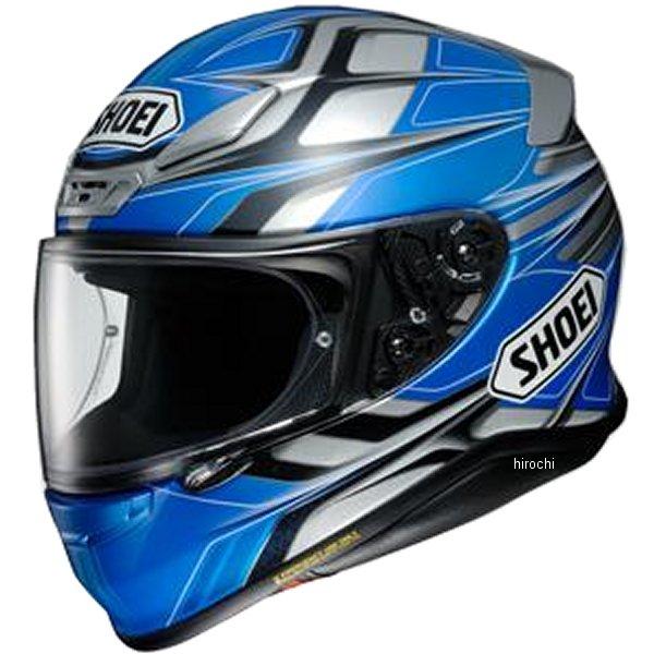 ショウエイ SHOEI フルフェイスヘルメット Z-7 RUMPUS ゼット セブン ランパス TC-2 青/グレー XXLサイズ (63cm) 4512048472849 JP店