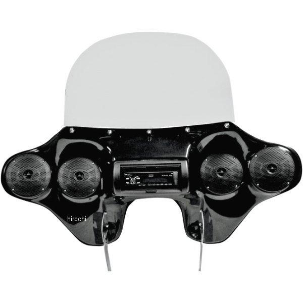 【USA在庫あり】 ホッピーインダストリーズ Hoppe Industries オーディオ フェアリング Quadzilla ハンドルSWとSPトリム有 2330-0168 JP店