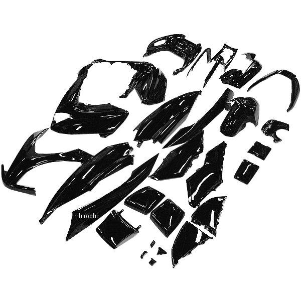 【メーカー在庫あり】 NBS バイクパーツセンター 外装22点セット マジェスティ250-4 (SG20J 4D9-1 4D9-4) 黒 315103 JP店