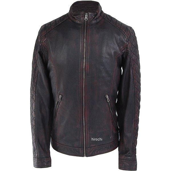 ライズ RIDEZ レザージャケット DEUCE ラディッシュブラック Mサイズ RLJ300-M JP店