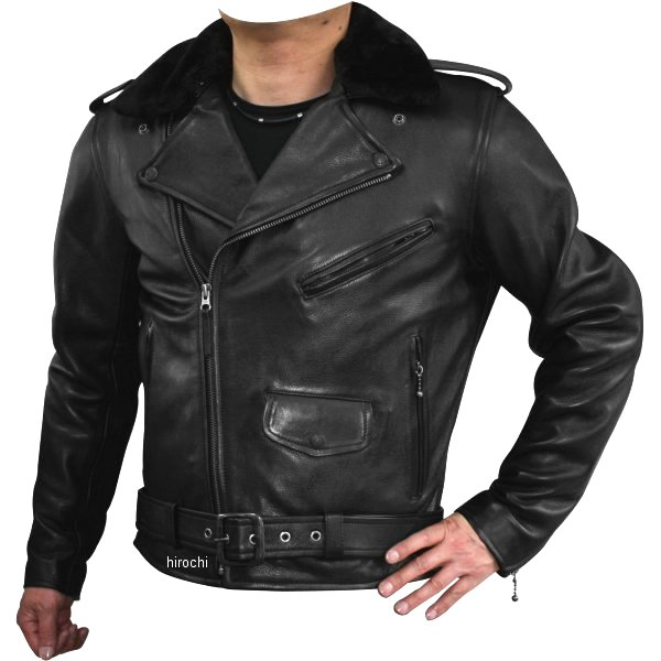 モトフィールド MOTO FIELD レザージャケット 黒 4Lサイズ MF-LJ98K JP店