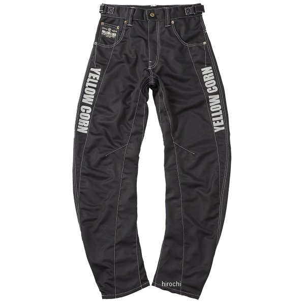 イエローコーン 2018年春夏モデル パンツ 黒/ベージュ Mサイズ YP-8130 JP店