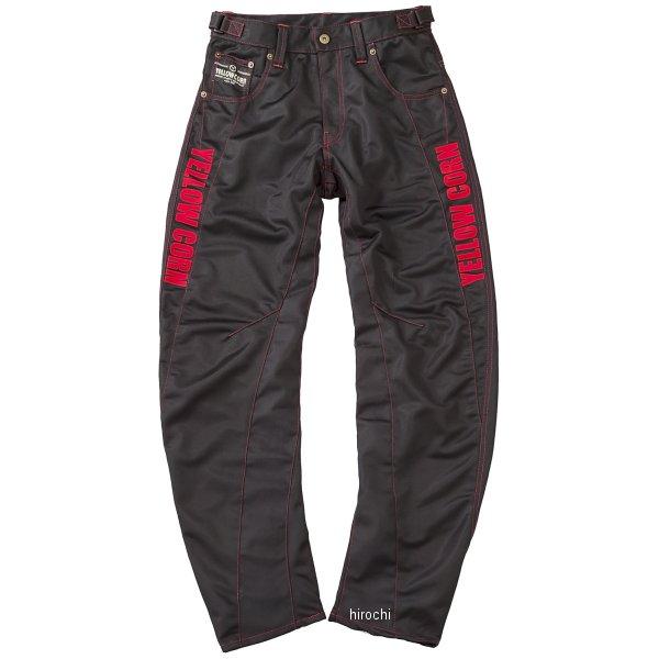 イエローコーン 2018年春夏モデル パンツ 黒/赤 Mサイズ YP-8130 JP店