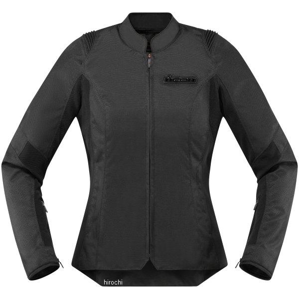 【USA在庫あり】 アイコン ICON 春夏モデル ジャケット OVERLORD SB2 STEALTH 黒 レディース用 XSサイズ 2822-1022 JP店