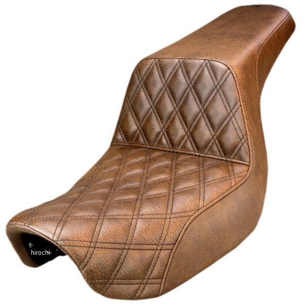 【USA在庫あり】 サドルメン Saddlemen シート Step-up 06年以降 FXD LS ブラウン 0803-0568 JP店