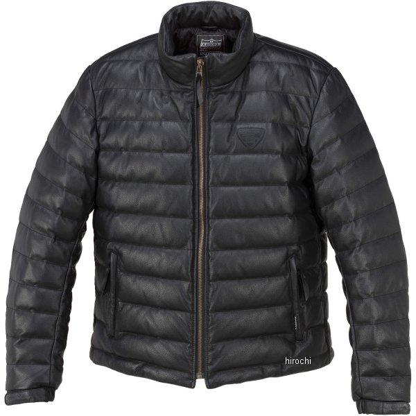 1183 カドヤ KADOYA 秋冬モデル 革ジャン シングル オールレザーダウンジャケット 黒 3Lサイズ 1183-1/BK3L JP店