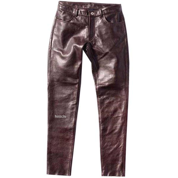 カドヤ KADOYA 春夏モデル レザーパンツ LTR-PANTS ブラウン WMサイズ 2268-0 JP店