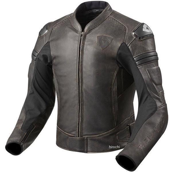 レブイット REVIT レザージャケット アキラヴィンテージ ダークブラウン M56サイズ FJL076-0780-M56 JP店