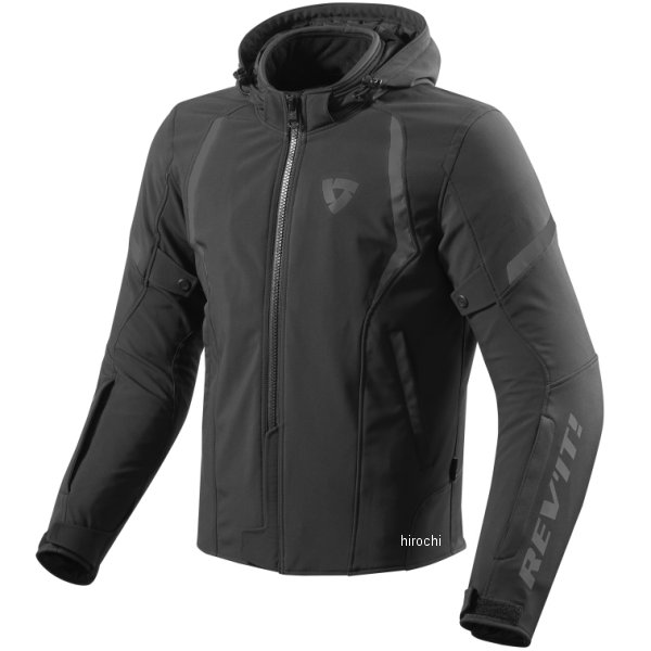 【メーカー在庫あり】 レブイット REVIT テキスタイルジャケット バーン 黒 Mサイズ FJT234-0010-M JP店