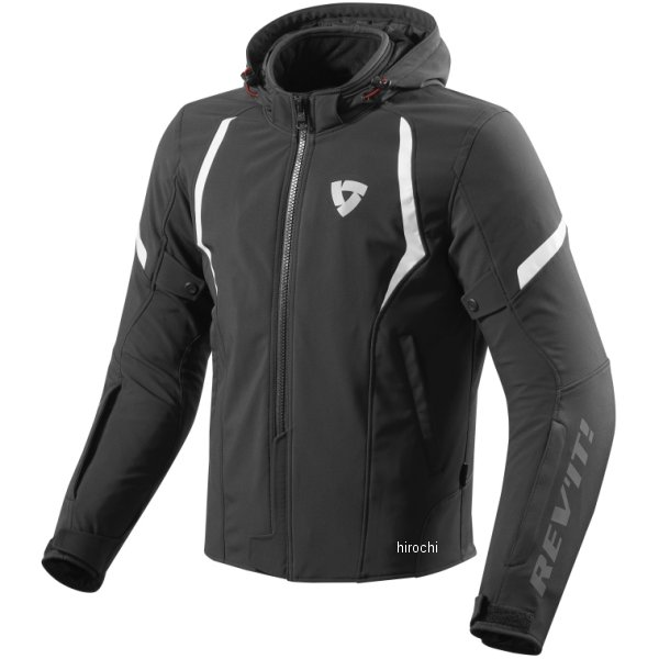【メーカー在庫あり】 レブイット REVIT テキスタイルジャケット バーン 黒/白 Mサイズ FJT234-1600-M JP店