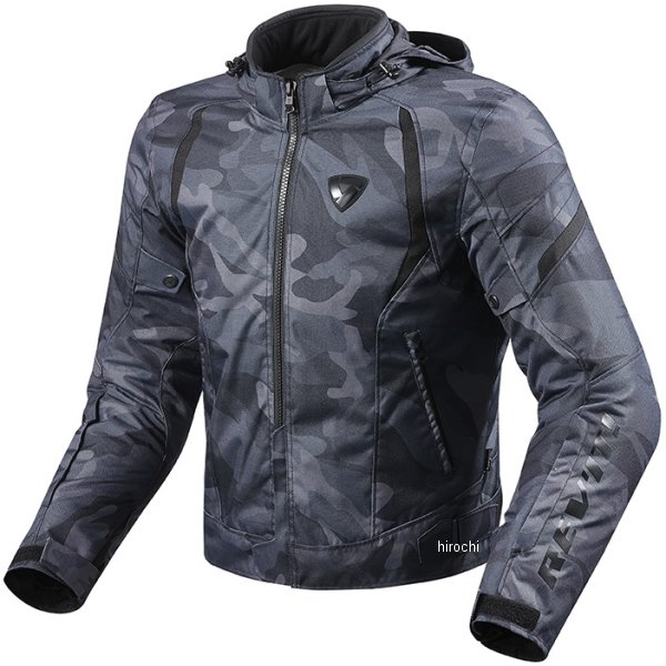 【メーカー在庫あり】 レブイット REVIT テキスタイルジャケット フレア 黒 Mサイズ FJT221-0010-M JP店