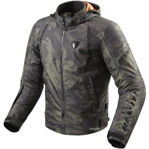 【メーカー在庫あり】 レブイット REVIT テキスタイルジャケット フレア アーミーグリーン Lサイズ FJT221-0840-L JP店