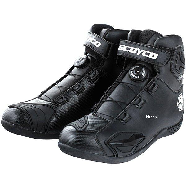スコイコ SCOYCO CHANGEOVER ライディングブーツ 黒 43サイズ MBT010/BK/43 JP店