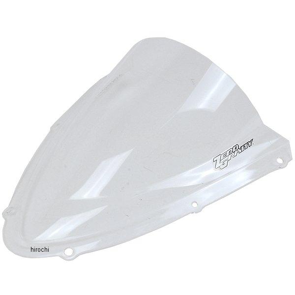 ゼログラビティ ZERO GRAVITY スクリーン ダブルバブル 08年-10年 GSX-R750、GSX-R600 クリア 1611201 JP店