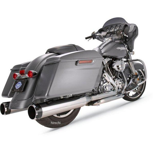 【メーカー在庫あり】 S&Sサイクル S&S Cycle 4.5インチ スリップオンマフラー 17年以降 クローム/黒 machin 550-0664 JP店