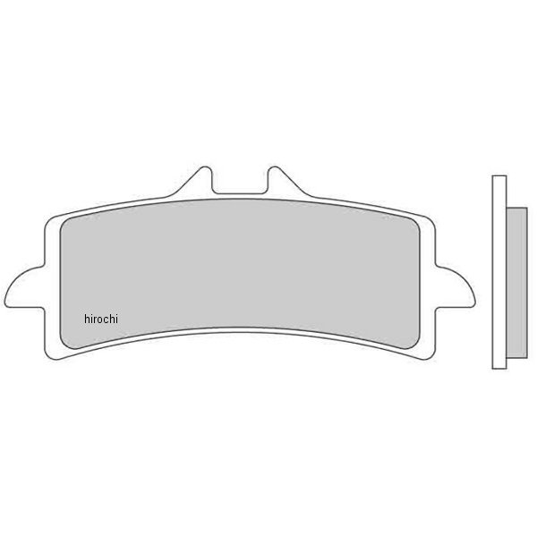 【USA在庫あり】 ガルファー GALFER ブレーキパッド フロント 14年-17年 CBR1000RR、ZX-10R カーボンセラミック 206631 JP店