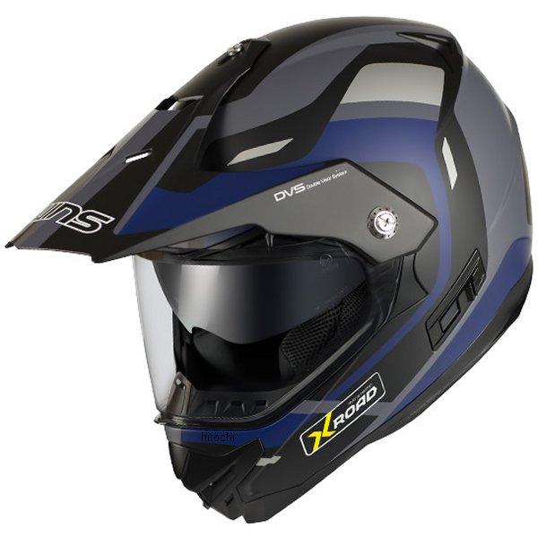 【メーカー在庫あり】 ウインズ WINS オフロードヘルメット X-ROAD FREE RIDE マットブラック/ブルー2 XLサイズ 4560385768057 JP店