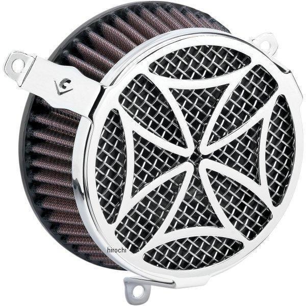 【USA在庫あり】 コブラ COBRA エアクリーナーキット クロス クローム 03年-09年 VTX1300 089377 JP
