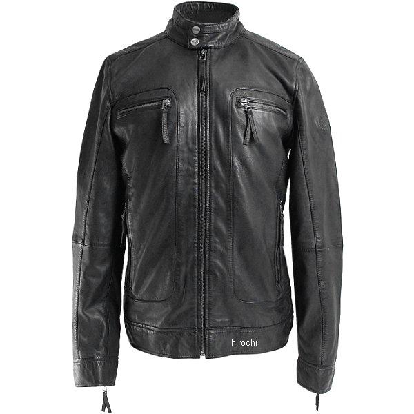 ライズ RIDEZ レザージャケット CLUBS ランプブラック Mサイズ RLJ202-M JP店