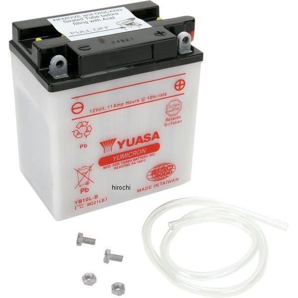【USA在庫あり】 ユアサ YUASA バッテリー 開放型 YB10L-B 581076 JP店