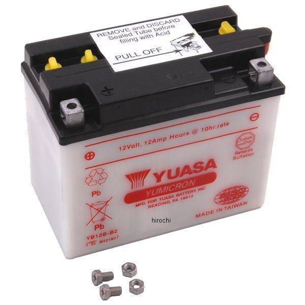 【USA在庫あり】 ユアサ YUASA バッテリー 開放型 YB12B-B2 581090 JP店