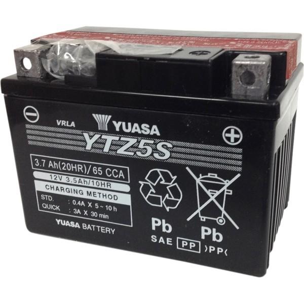 【USA在庫あり】 ユアサ YUASA AGM MFバッテリー 密閉型 12V YTZ5S-BS 581379 JP店