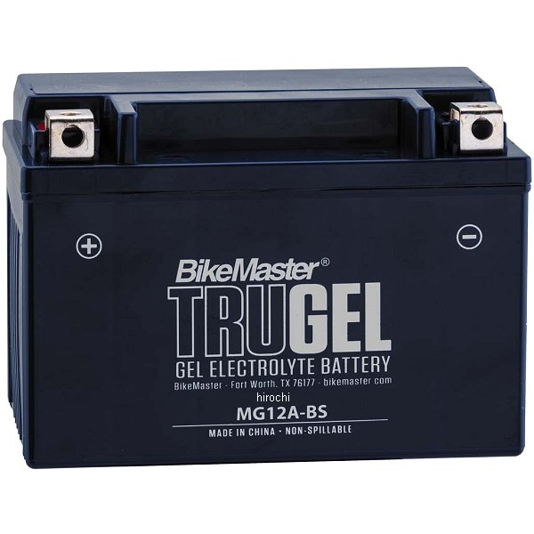 【USA在庫あり】 バイクマスター BikeMaster ゲルバッテリー YT12A-BS互換 780504 JP店