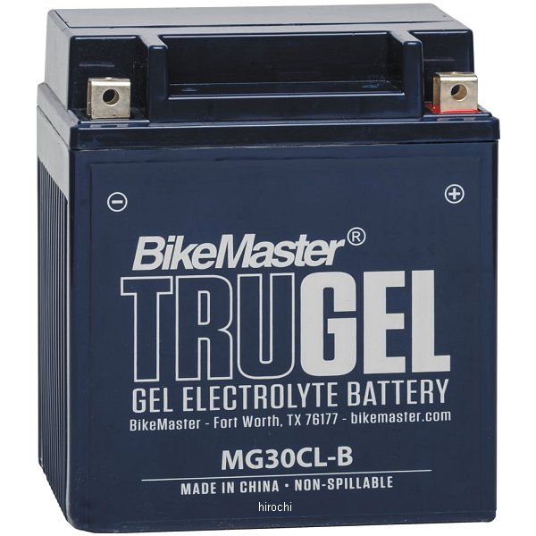 【USA在庫あり】 バイクマスター BikeMaster ゲルバッテリー YB30CL-B互換 780527 JP店