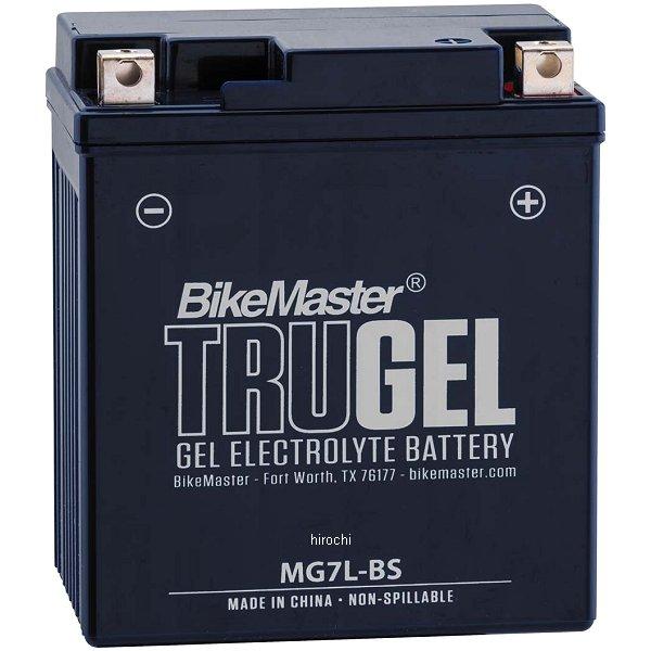【USA在庫あり】 バイクマスター BikeMaster ゲルバッテリー YTX7L-BS互換 780540 JP店