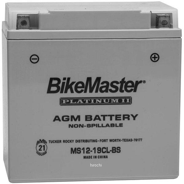 【USA在庫あり】 バイクマスター BikeMaster AGM バッテリー YTX19CL-BS、YB16CL-B互換 780722 JP店