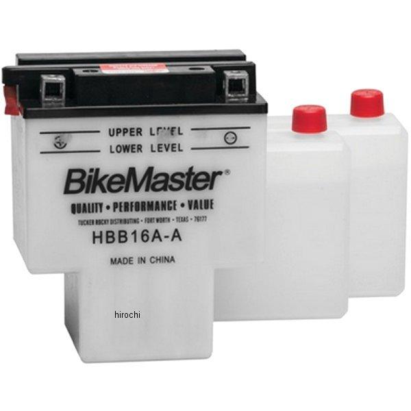 【USA在庫あり】 バイクマスター BikeMaster HBB16A-A バッテリー 781095 JP店