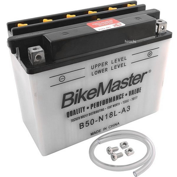 【USA在庫あり】 バイクマスター BikeMaster B50-N18L-A3 バッテリー 781158 JP店