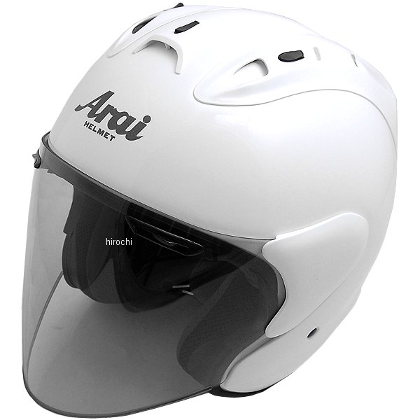 ホンダ純正 春夏モデル Honda×Arai ジェットヘルメット SZ-Ram4 パールサンビームホワイト Mサイズ 0SHGK-JRA4-W JP店
