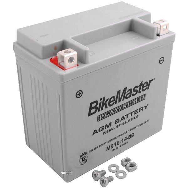 【USA在庫あり】 バイクマスター BikeMaster AGM バッテリー YTX14-BS互換 780713 JP店
