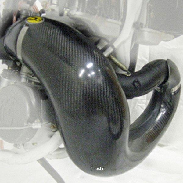 【USA在庫あり】 P3 Carbon P3カーボン マフラー パイプガード カーボンファイバー 10年-13年 ハスクバーナ WR 300 黒 306000 JP店