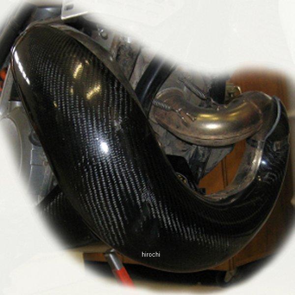 【USA在庫あり】 P3 Carbon P3カーボン マフラー パイプガード カーボンファイバー 02年-04年 CR250R 黒 306008 JP店