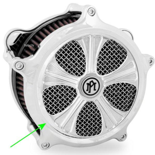 【USA在庫あり】 パフォーマンスマシン インサート エアクリーナー Super Gas用 Syndicate クローム PM5056 JP店
