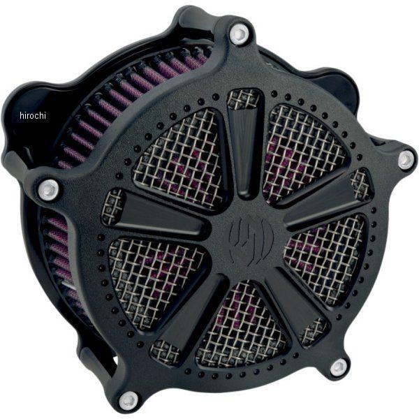 【USA在庫あり】 ローランドサンズデザイン RSD エアクリーナー ベンチュリ ジャッジ 08年-16年 FLH 黒(つや消し) RD5026 JP店