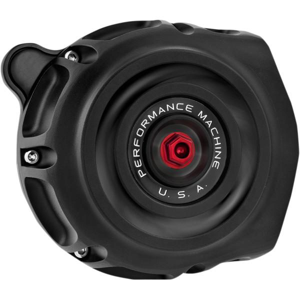 【USA在庫あり】 パフォーマンスマシン エアクリーナー ビンテージ 91年以降 XL 黒(つや消し) PM5144 JP店